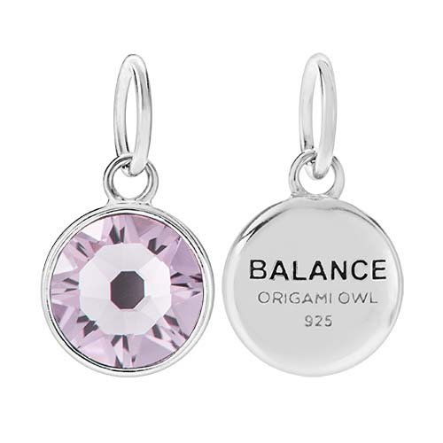 CR1131 Balance June Birthstone Light Amethyst Swarovski Crystal V4 copy